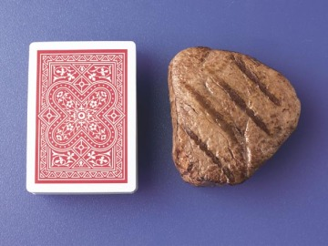 Deck of Cards vs. Steak